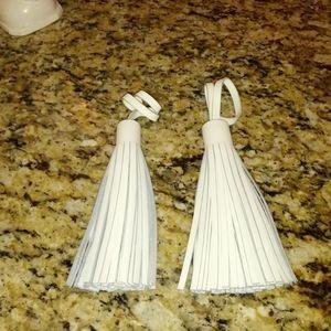 1122 Joy & Iman Leather Tassels